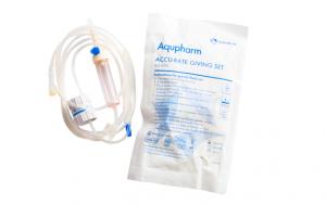 Aqupharm Accu Rate Giving Set XSN500