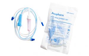 Aqupharm Needlefree Accublu Giving Set