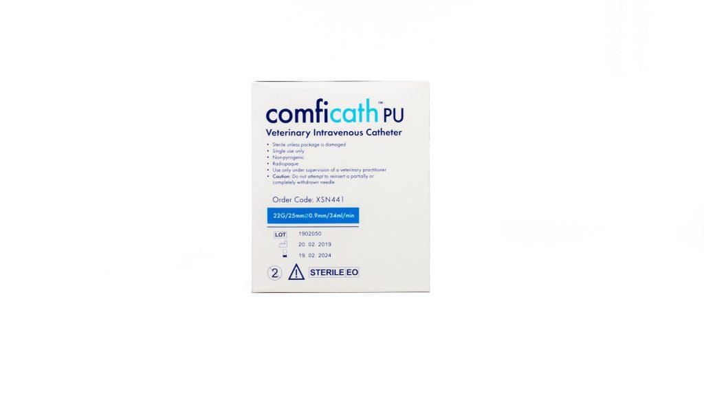 Aqupharm Comfi-Cath PU catheter 22g x 25mm