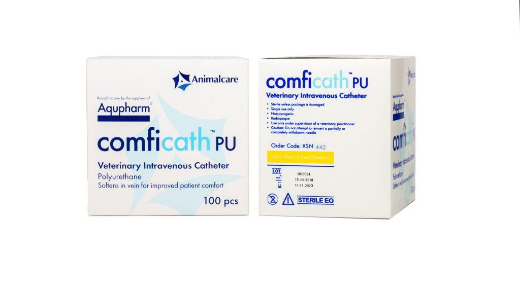 Aqupharm Comfi-Cath PU catheter 24g x 19mm