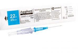 Aqupharm Swift-Cath FEP catheter 22g x 25mm